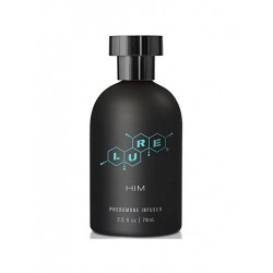 Lure Black Label For Him, Pheromone Personal Scent, 2.5 fl oz (74 ml) Bottle (T5364)