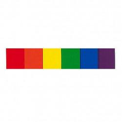 Rainbow Pride Aufkleber / Sticker 1,9 x 9,5cm / 0.7 x 3.7 inch (T1041)