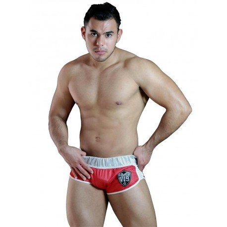 GBGB Noah Mesh Shorts Red (T5179)