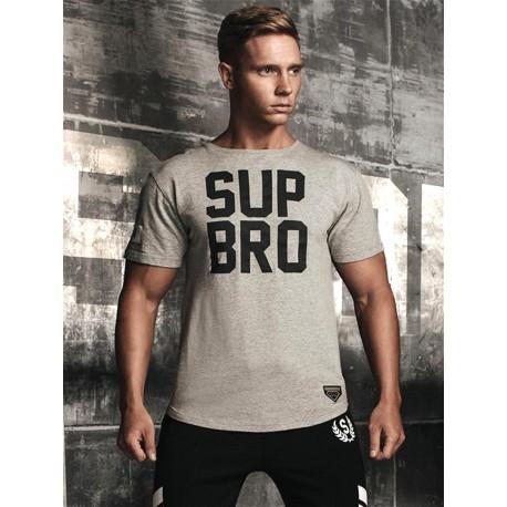 Supawear SUP BRO T-Shirt Grey Marle (T5105)