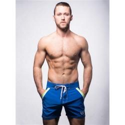 Andrew Christian Crew Swim Shorts Swimwear Royal (T5458)