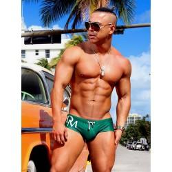 Danny Miami Olympia Trunk Swimwear Green (T5753)