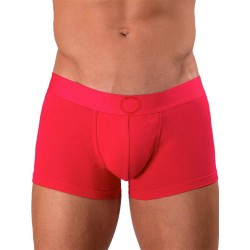 Rounderbum Colors Padded Boxer Trunk Underwear Red
