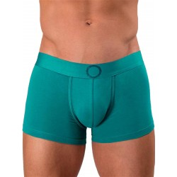 Rounderbum Colors Padded Boxer Trunk Underwear Green (T5962)