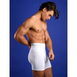 Rounderbum Slim Fit Boxer Brief Underwear White (T4819)