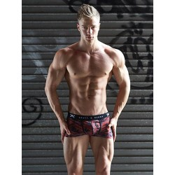 Skull & Bones Camo Trunk Underwear Red (T6036)