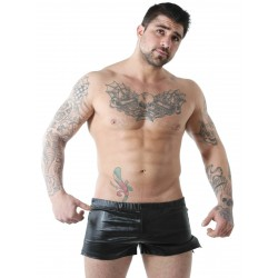 GBGB Wade Shiny Shorts Metallic Black (T6079)