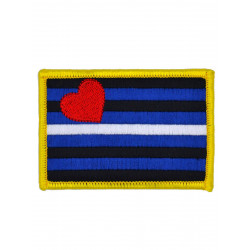 Leather Pride Patch/Aufnäher 5,5 x 8 cm (2 x 3 inch)