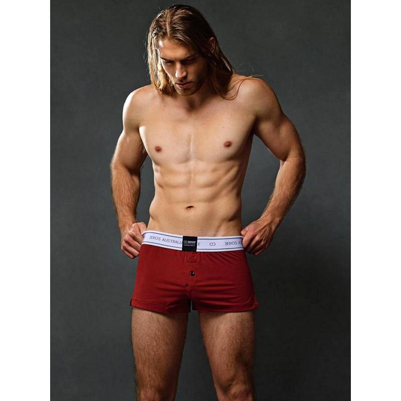 2Eros Core Series 2 Boxer Shorts Underwear Cabernet (T6129)