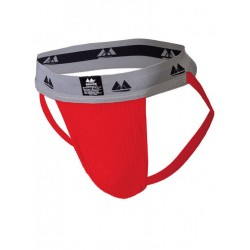 MM The Original Jockstrap Underwear Scarlet/Grey 2 inch (T6223)