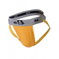 MM The Original Jockstrap Underwear Gold/Grey 2 inch