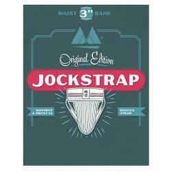 MM The Original No. 10 Jockstrap Underwear White 3 inch (T6216)