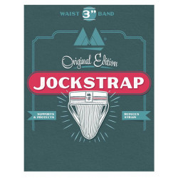 MM The Original No. 10 Jockstrap Underwear Black 3 inch (T6215)
