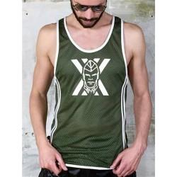 BoXer Airtex Vest Soldier Boy T-Shirt / Tank Top (T6186)