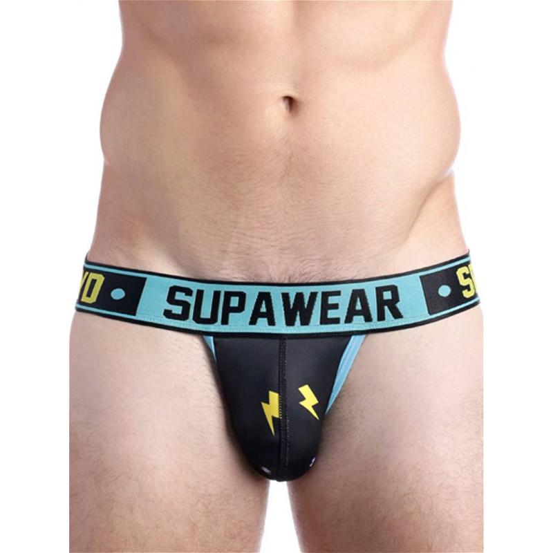 Supawear Sprint Thunda Jockstrap Underwear Black Thunder (T6146)