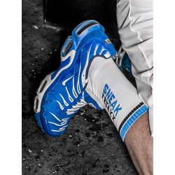 Sneak Freaxx Black & Blue Socks White One Size