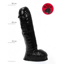 All Black Dildo `Ailean 03` 30 x 5,7 cm (T6251)