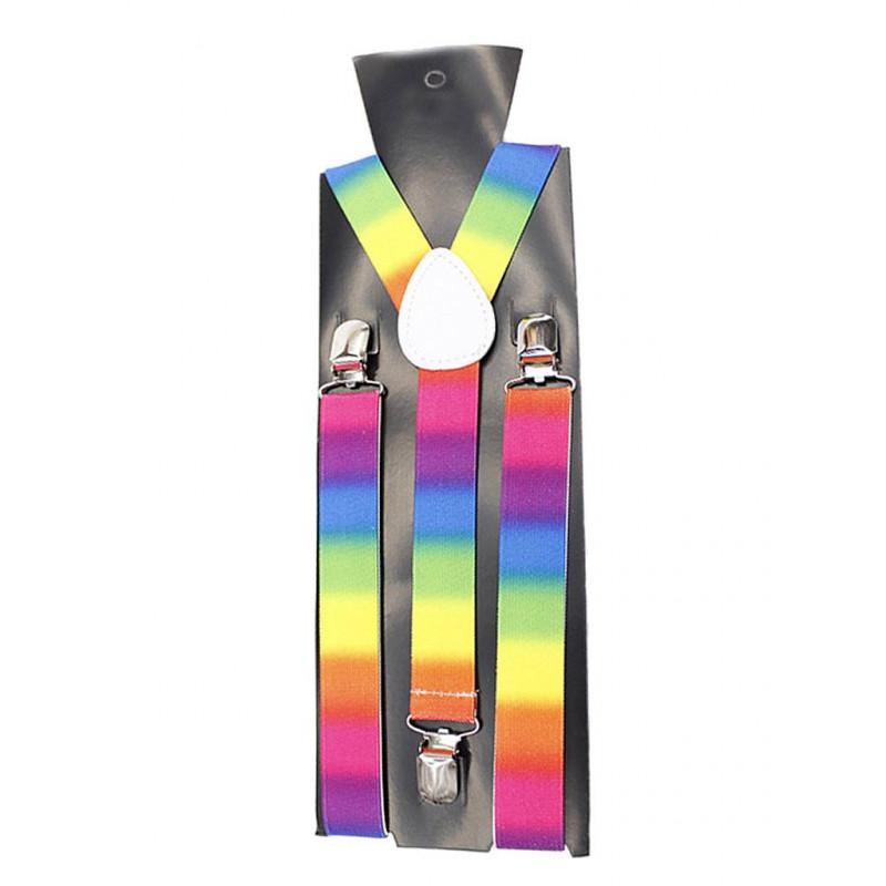 Rainbow Suspenders / Hosenträger (T6316)