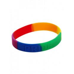 Rainbow Pride Bracelet Silicone 1/10 (T6327)