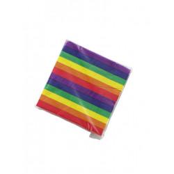 Rainbow Napkins / Servietten 20-pack (T6322)