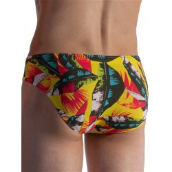Olaf Benz Beachbrief BLU1853 Swimwear Rio Print (T6469)