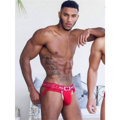 2Eros Apollo Jockstrap Underwear Solar Red (T6481)