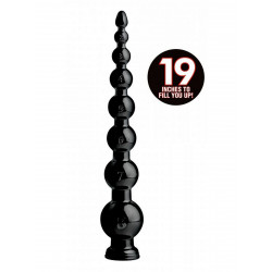 Hosed Graduated Bead Anal Snake 19inch (T6579)