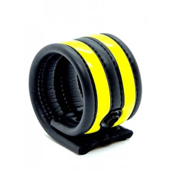 665 Neoprene Racer Ball Strap Yellow (T6616)