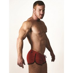 Mister B URBAN Ibiza Shorts Red (T7020)