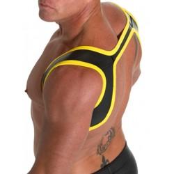 665 Neoprene Slingshot Harness Black/Yellow