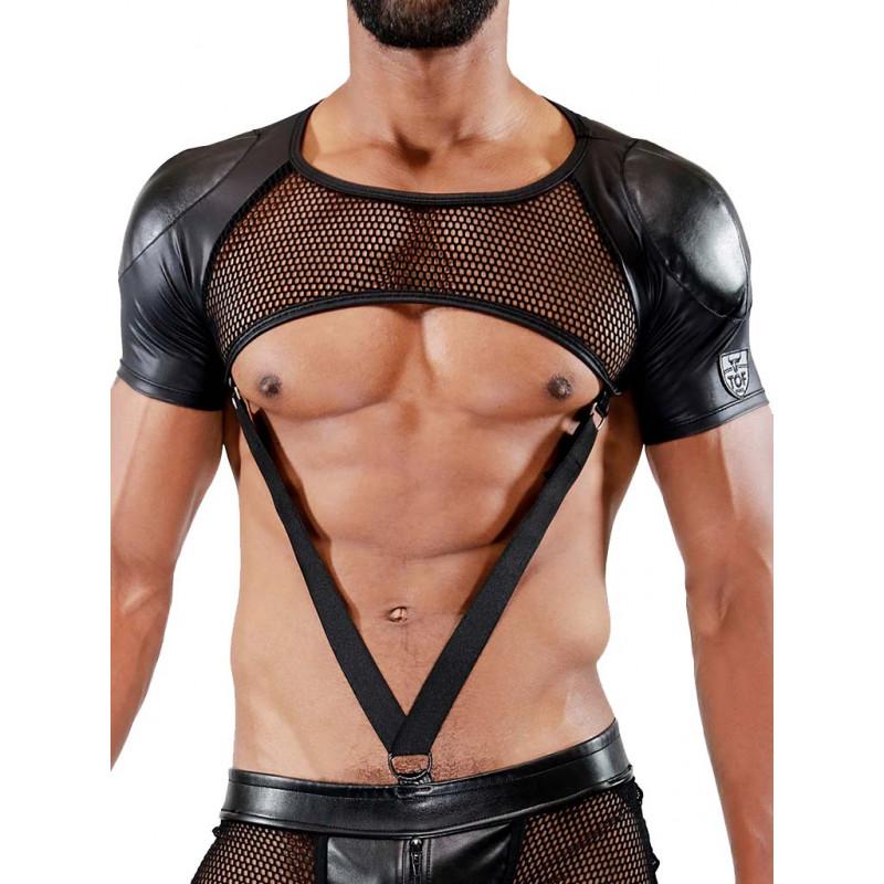 TOF Paris Spartacus Full Harness Black (T7077)
