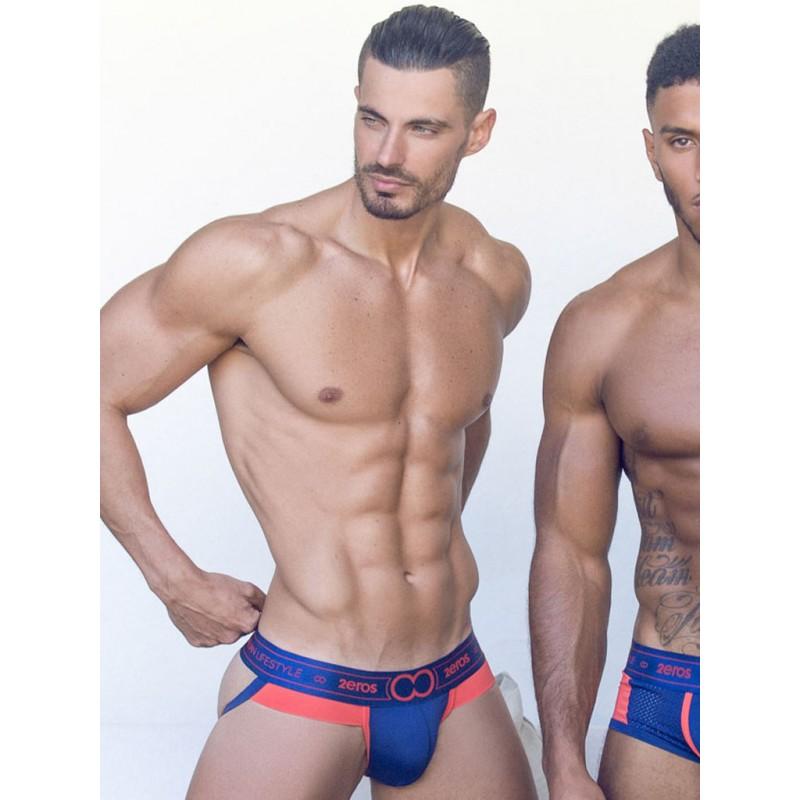 2Eros Kratos Jockstrap Underwear Fiery Seas (T7223)
