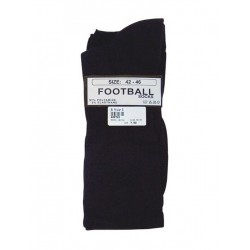 MisterB Football Socks Black (T6956)