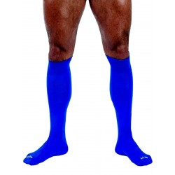 MisterB Football Socks Blue (T6954)