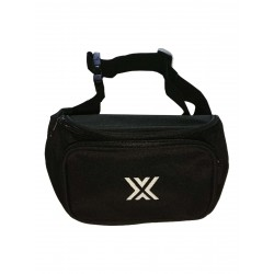 Boxer Bum Bag Black w. White X (T7010)