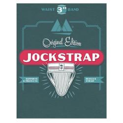 MM The Original No. 10 Jockstrap Underwear Scarlet Red 3 inch (T7418)