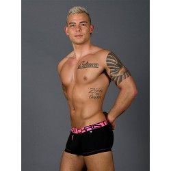 Andrew Christian Fly Tagless Boxer w/ Almost Naked Underwear Black (T7402)