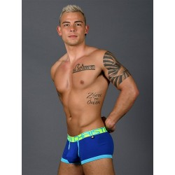 Andrew Christian Fly Tagless Boxer w/ Almost Naked Underwear Royal (T7404)