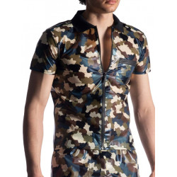 Manstore Polo Shirt.M918 T-Shirt Camouflage (T7426)