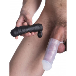 RudeRider Penis Sleeve Small black (T6684)