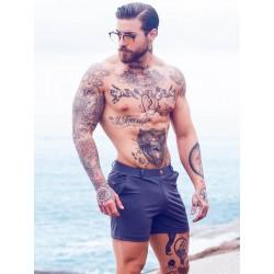 2Eros Bondi Bar Beach Swim Shorts Charcoal (T7526)