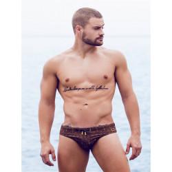 2Eros Print Swimwear Persia Swim Briefs (T7518)