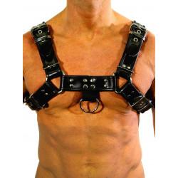 RudeRider Regular Shoulder Harness Leather Black/Black (T7304)