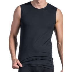 Olaf Benz College Shirt RED1203 Sleeveles T-Shirt Black