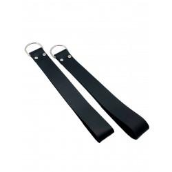 RudeRider Loops (Set of 2) Leather Black (T7353)