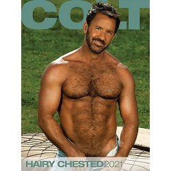 Colt Hairy Chested 2021 Calendar (Colt) (M1003)