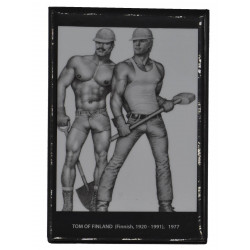 Tom of Finland Magnet Construction Duo (T5792)