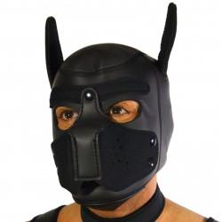 RudeRider Neoprene Puppy Hoods Black (T7271)