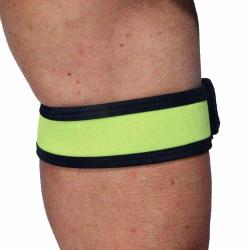 RudeRider Neoprene Puppy 2 Biceps Straps Yellow (T7258)
