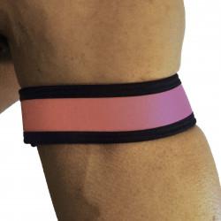 RudeRider Neoprene Puppy 2 Biceps Straps Pink (T7468)